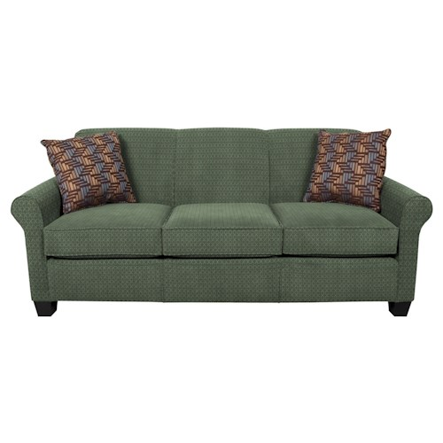 England Angie  Queen Sleeper Sofa With Accent Cushions