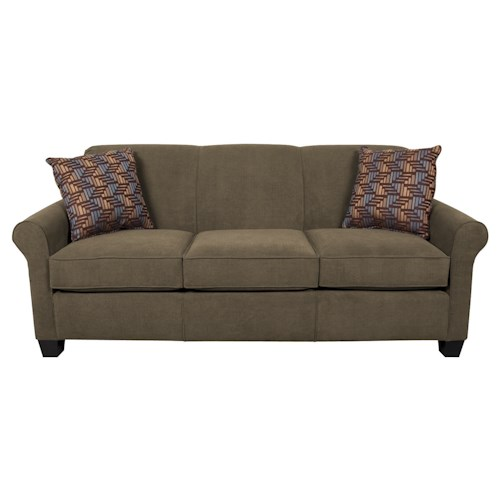 England Angie  Air Queen Sleeper Sofa With Accent Cushions