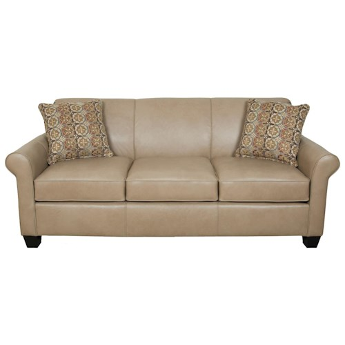 England Viola Queen Sleeper Sofa With Accent Cushions