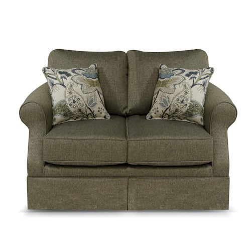England Blayklee Traditional Rolled Arm Loveseat