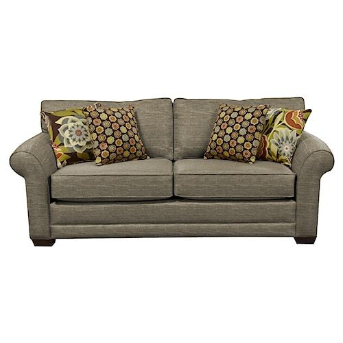 England Brantley Plush Upholstered Queen Size Sleeper Sofa
