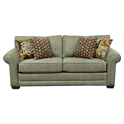 England Brantley Queen Sleeper Sofa with Visco Mattress