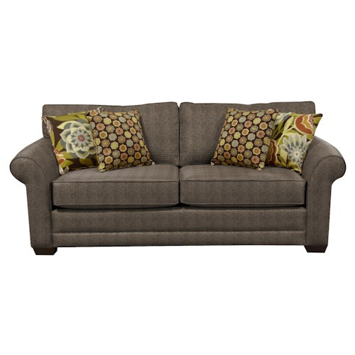 England Brantley Queen Sleeper Sofa with Visco Mattress