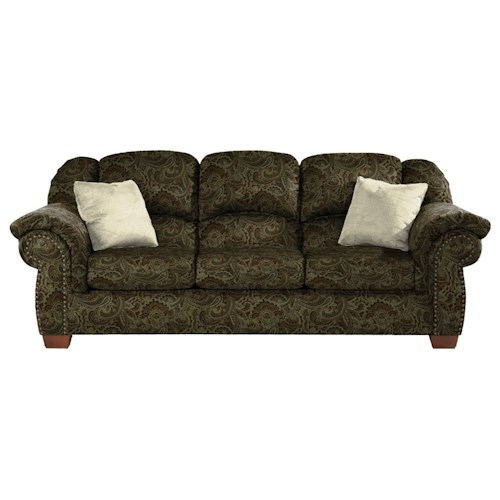 England Bryce Visco Mattress Queen Size Sleeper Sofa with Decorative Style