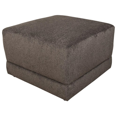 England Cole  Contemporary Box Ottoman
