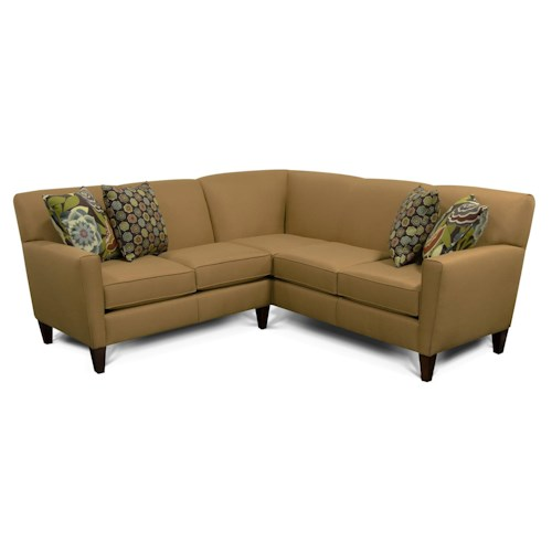 England Collegedale Contemporary 2-Piece Sectional