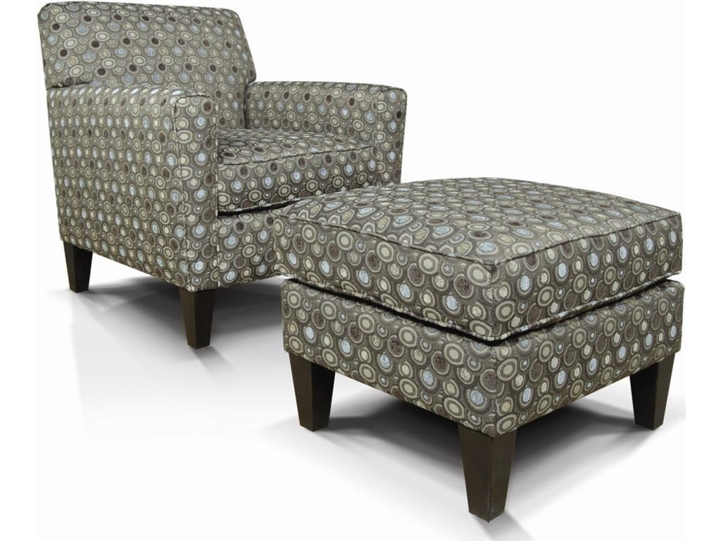 Shown with Matching Ottoman.