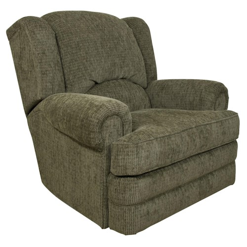 England Drake Traditional Styled Swivel Gliding Recliner Chair