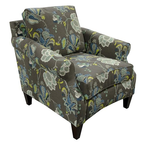 England Duke Living Room Arm Chair with Casual Style