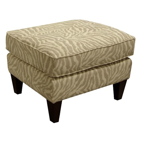 England Duke Living Room Ottoman with Casual Style