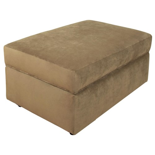 England Geoff  Casual and Convenient Storage Ottoman
