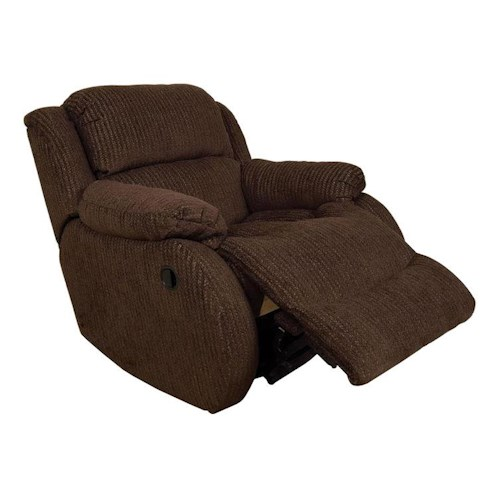 England Hali Casual Swivel Gliding Recliner with Pillow Arms