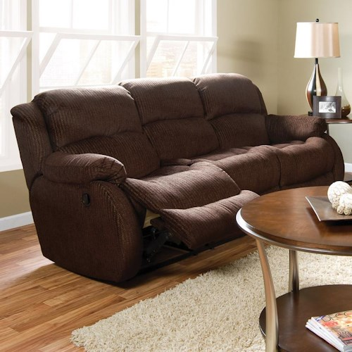 England Hali Casual Double Reclining Sofa with Power