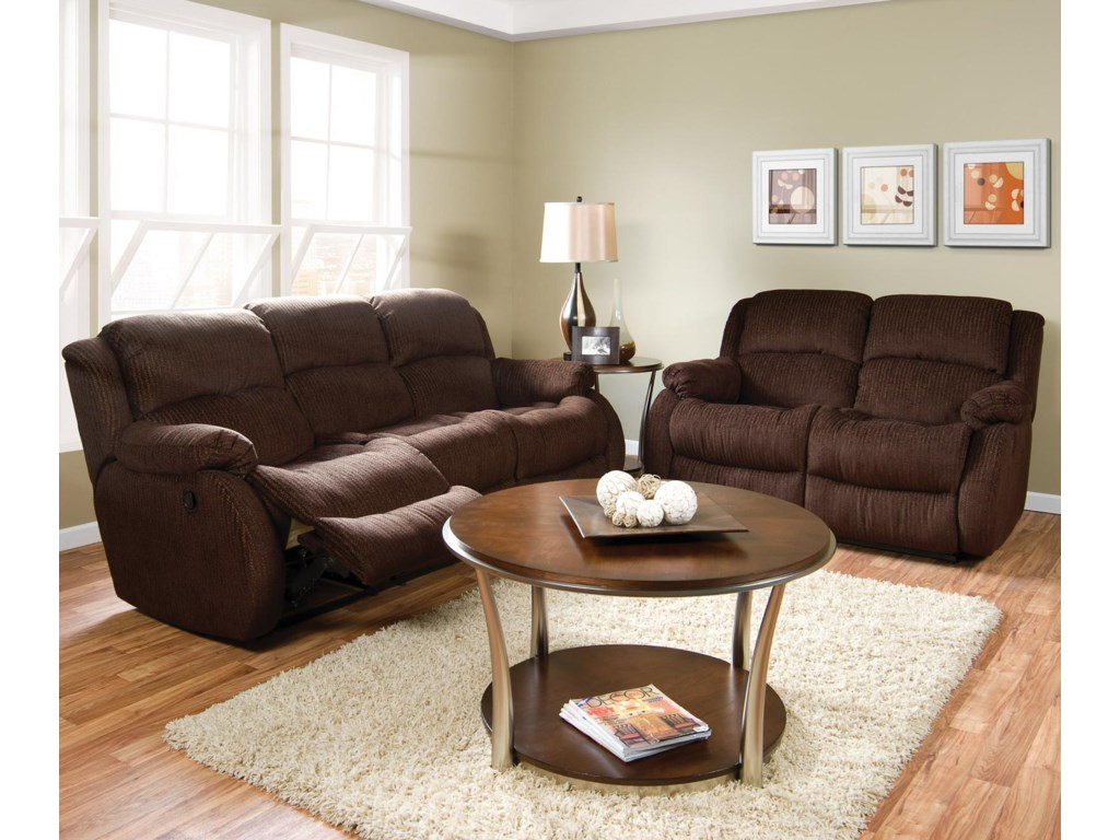 Shown in Living Room Setting with Matching Reclining Sofa