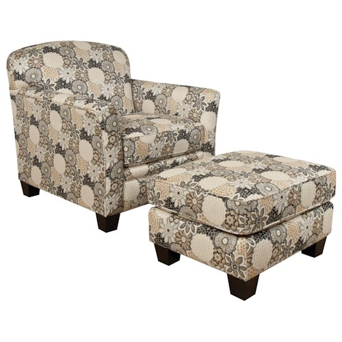 England Hilleary Casual Chair and Ottoman Set