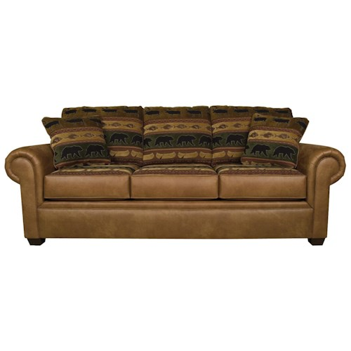 England Jaden Traditional Styled Air Queen Size Sleeper Sofa