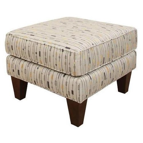 England Keely  Contemporary Chair Ottoman in Rectangle Style
