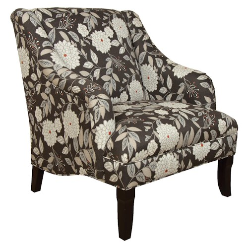 England Kinnett Living Room Arm Chair with Formal Cottage Style