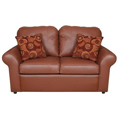 England Lochlan Comfortable Loveseat with Casual Furniture Style
