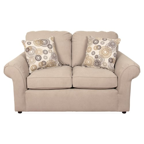 England Malibu Casual Living Room Love Seat
