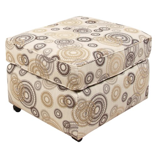 England Malibu Chair Ottoman for Living Rooms
