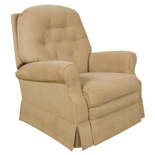 England Marisol Minimum Proximity Recliner with Power and Tufted Seat Back