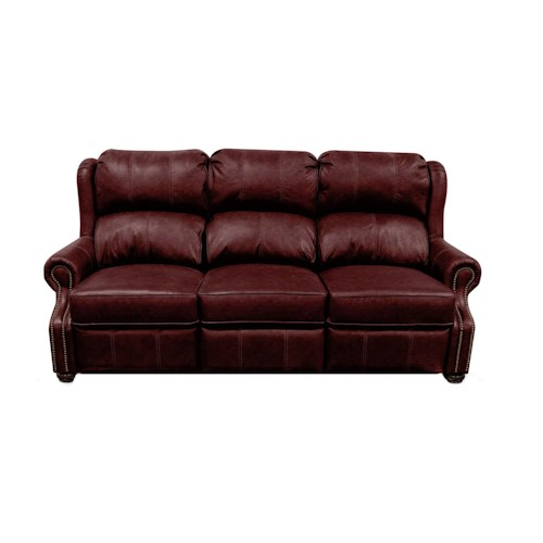 England Masters Double Reclining Sofa with Traditional Style