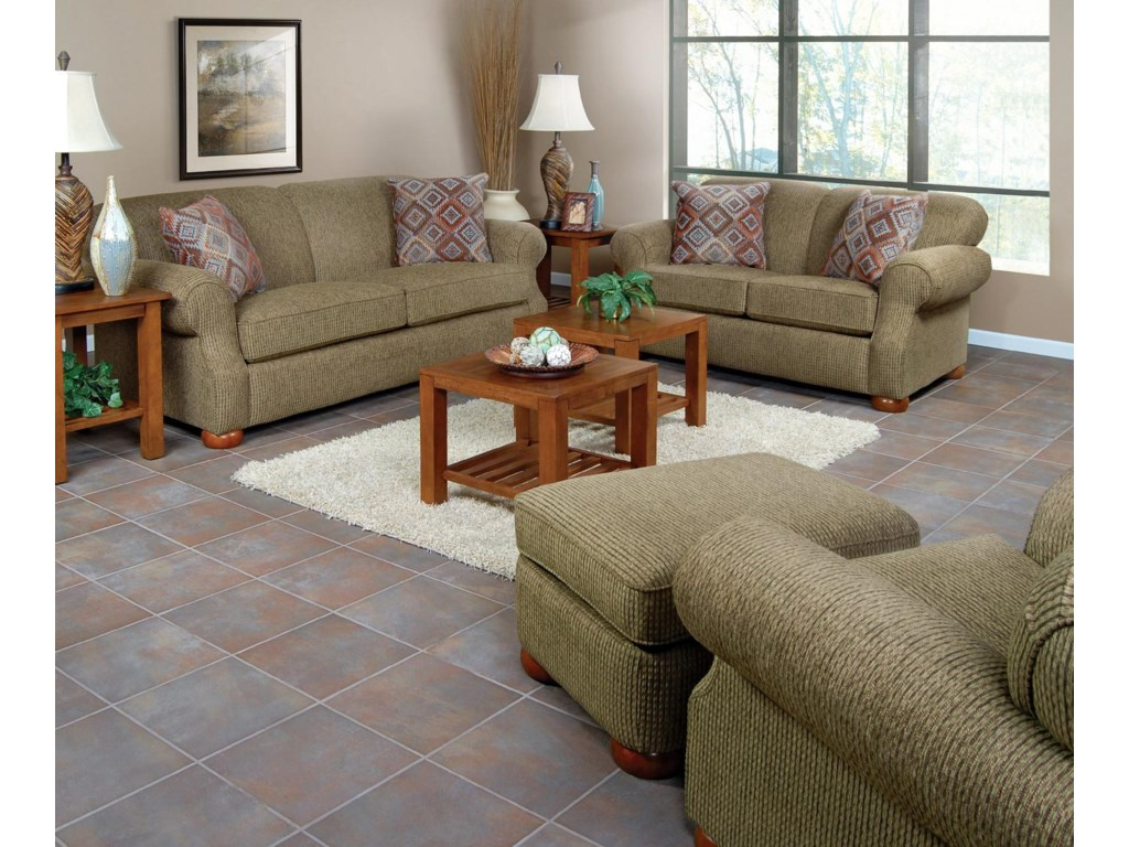Shown in Living Room Setting with Matching Loveseat and Sofa