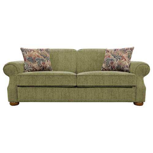 England Melbourne Comfortable Visco Mattress Queen Size Sleeper Sofa