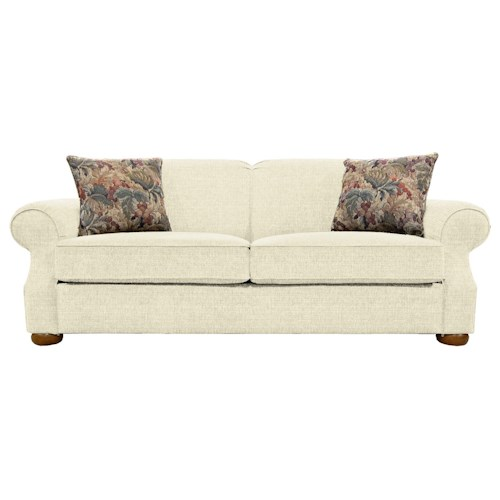 England Melbourne Comfortable Visco Mattress Queen Size Sleeper Sofa