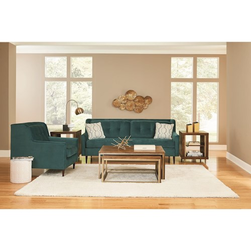 England Gramercy Park Living Room Group