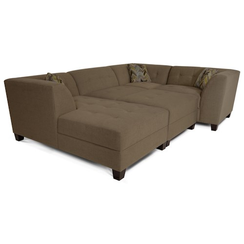 England Miller Sectional Sofa with 3-5 Seats