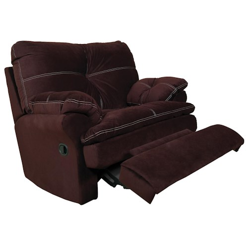 England Miranda and Lloyd  Comfortable Rocker Recliner for Casual Family Room Comfort