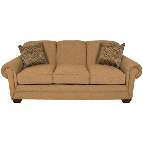 England Monroe Traditional Stationary Sofa