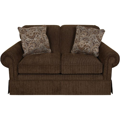 England Nancy Classic Upholstered Loveseat