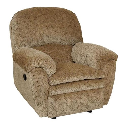 England Oakland Upholstered Rocker Recliner with POWER