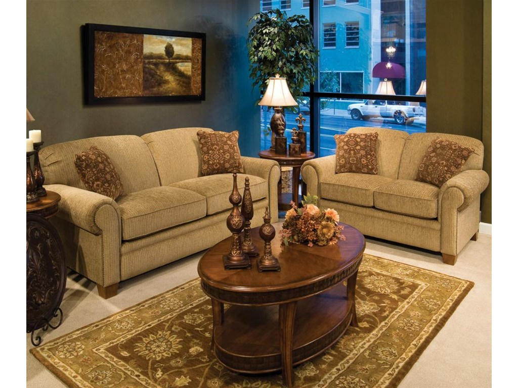 Shown With Love Seat. Sofa Shown May Not Represent Exact Features Indicated.