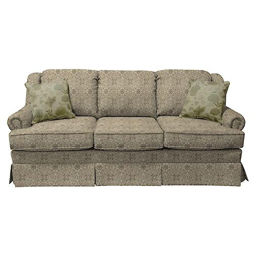 England Rochelle Skirted Sofa