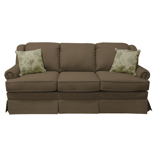 England Rochelle Skirted Sofa Sleeper
