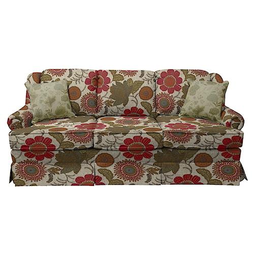 England Rochelle Skirted Sofa Sleeper