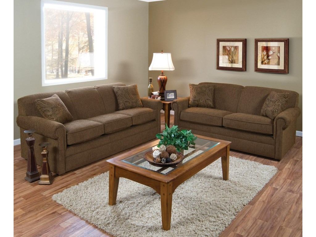 Shown in Living Room Setting with Matching Loveseat