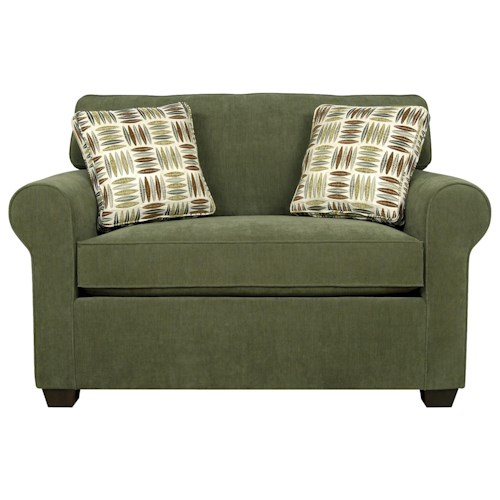 England Seabury Visco Mattress Twin Size Sleeper Sofa for Living Rooms