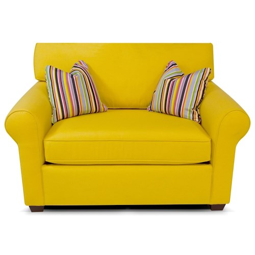 England Seabury Twin Size Sleeper Sofa for Living Rooms