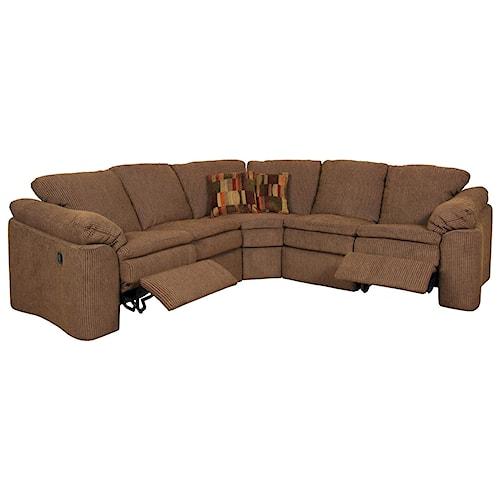 England Seneca Falls Family Room Sectional Sofa