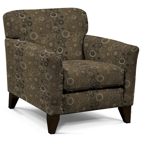 England Shockley Chair with Button Tufts