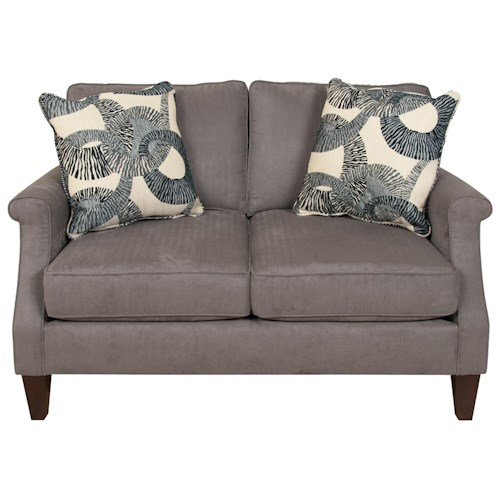 England Sigmond  Contemporary Love Seat for Family Rooms