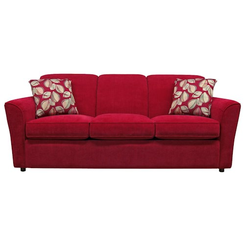 England Smyrna Sofa with Casual Contemporary Style