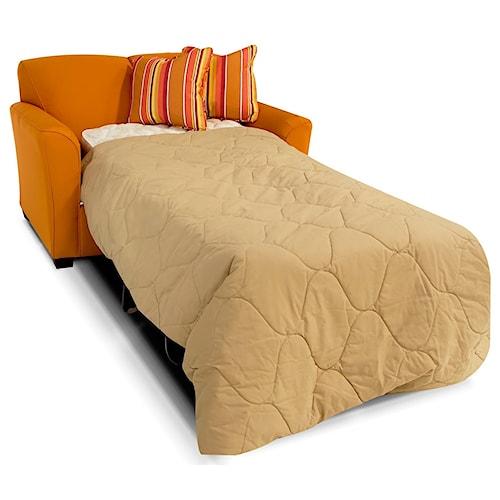 England Smyrna Twin Size Sofa Sleeper with Visco Mattress