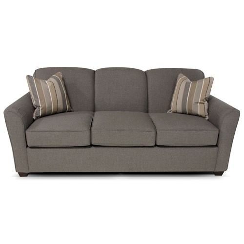England Smyrna Queen Size Sleeper Sofa with Visco Mattress