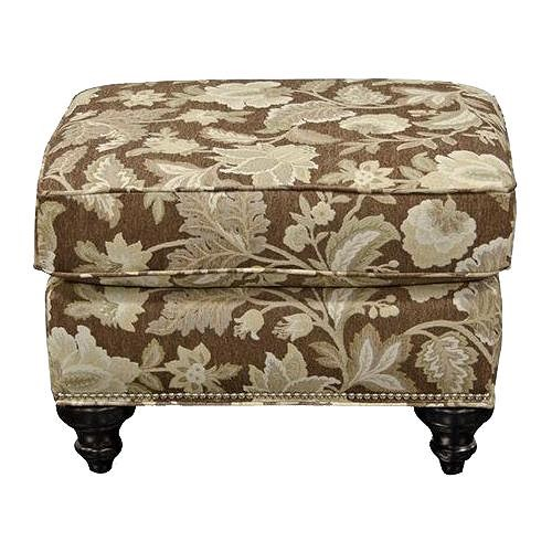 England Stacy Ottoman with Nail Heads